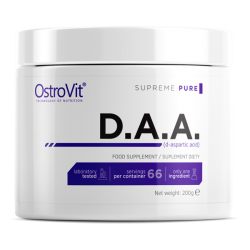 Ostrovit D.A.A. Kwas d-asparginowy Naturalny Booster Testosteronu